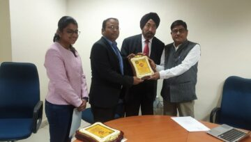 Signing of the MOU between KBK, IIT ROPAR and CelsiusPro Switzerland